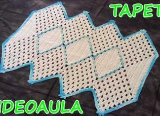 Aprenda como fazer um tapete Zig Zag
