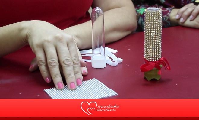 Decoração e lembrancinha: Aprenda como fazer um tubete de luxo
