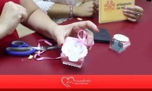 Festa e Decoração: Caixa de acrílico decorada para doces