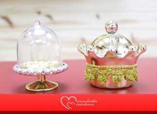 Lembrancinhas de luxo! Aprenda como fazer um cachepô e uma cúpula