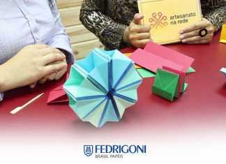 Origami: Aprenda como fazer uma linda caixa sanfonada!