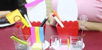 Decoração e utilidade: Organizador de escritório feito com acrílico
