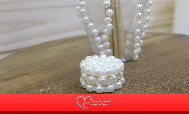 Embalagem de acrílico: Aromatizador de ambiente decorado - Detalhe