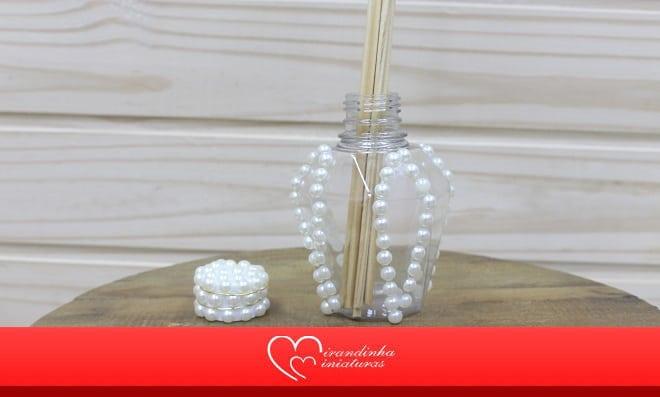 Embalagem de acrílico: Aromatizador de ambiente decorado