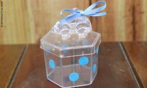 Aula rápida de acrílico: Lembrancinha de menino para chá de bebê - Destaque