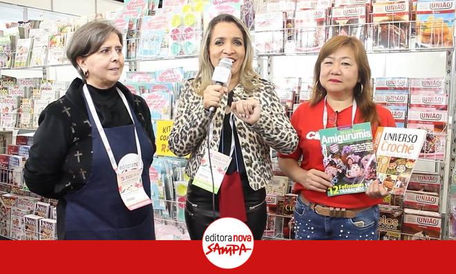 Mega Artesanal 2018 conta com lançamentos da Editora Nova Sampa - Destaque