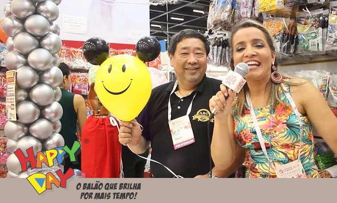 Mega Artesanal 2018 tem balões Happy Day para divertir sua festa - Destaque