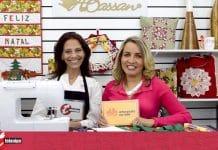 Painel natalino! Faça um painel com bolsos para decoração de natal - Destaque