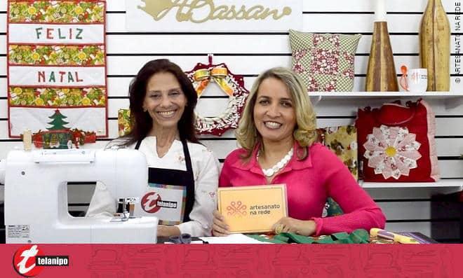 Painel natalino! Faça um painel com bolsos para decoração de natal