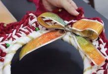 Aprenda como fazer uma guirlanda de natal artesanal - Destaque