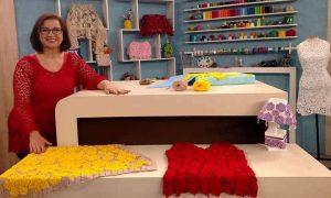 Neuzy Valim: Conhecida pelo crochê e conhecida na TV! - Destaque