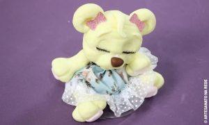 Sachê perfumado de biscuit - Ursinha princesa - Destaque