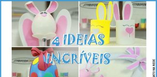 4 ideias incríveis com isopor para decoração de páscoa - Destaque