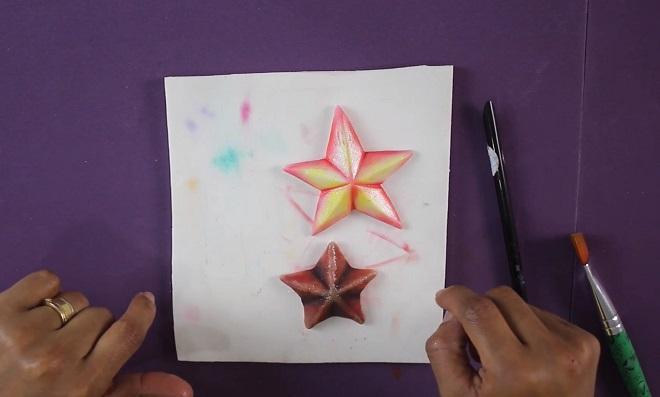Técnicas incríveis com os Pós Mágicos do Emerson Nogueira - Estrela de massa - 2 Modelos