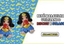 Boneca de Biscuit - Bebê Maravilha em miniatura - Destaque