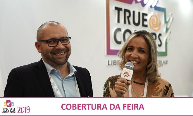 Andreia Bassan entrevista Bruno Brescancini na Mega Artesanal 2019