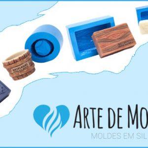 Arte de Modelar - Formas de Silicone para Sabonetes Artesanais - Destaque