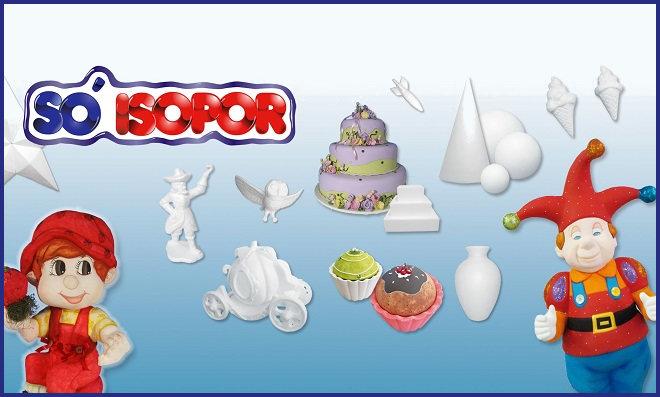Só Isopor - Uma grande variedade de produtos em E.P.S. - Destaque