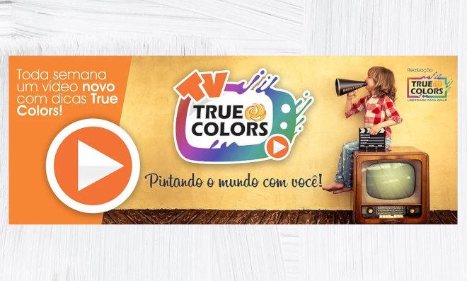 True Colors Tintas e Texturas Especiais - TV True Colors