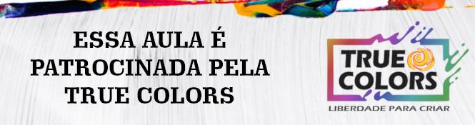 Pintura em tecido com stencil - Rosa porcelanizada - Banner de patrocínio