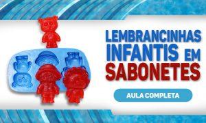 Sabonete artesanal para lembrancinhas infantis - Tema Safari - Destaque