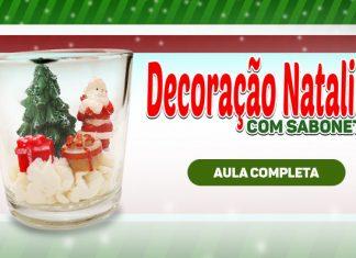 5 ideias de sabonetes natalinos - Presente e decoração de natal - Destaque