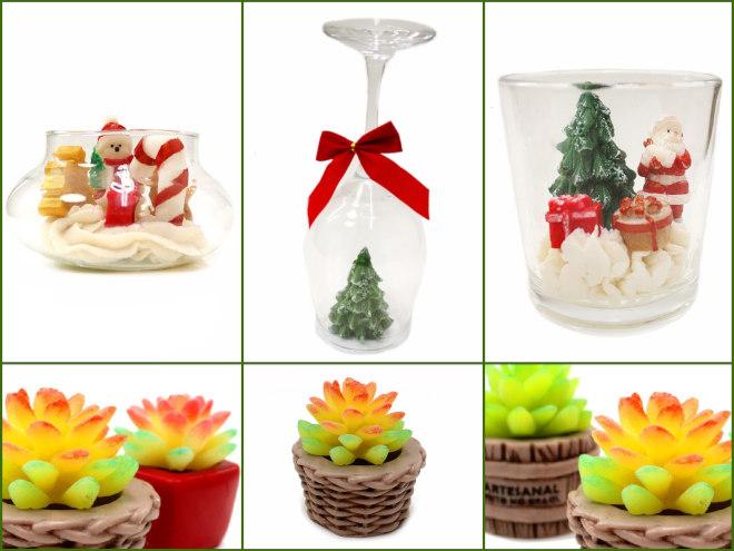 5 ideias de sabonetes natalinos - Presente e decoração de natal - Modelos