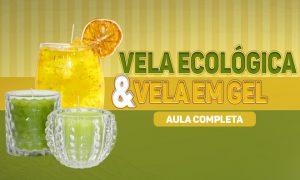 2 tipos de velas decorativas: Vela ecológica e vela em gel - Destaque