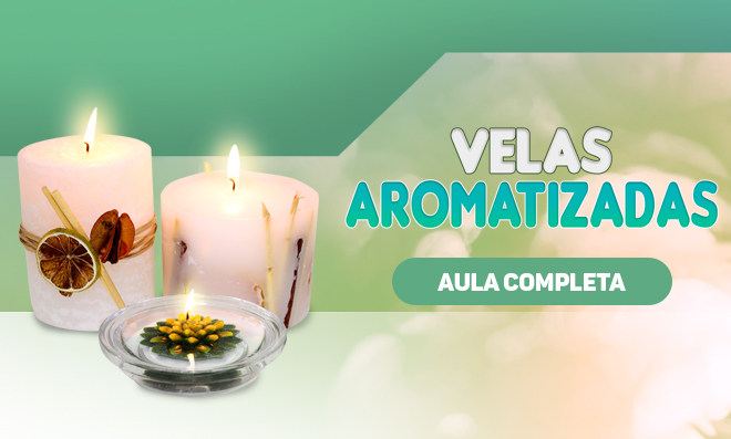 3 tipos de velas decorativas e aromatizadas