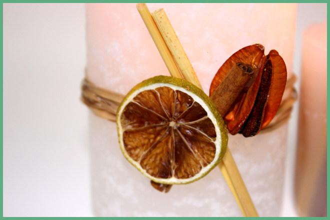 3 tipos de velas decorativas e aromatizadas - Ilustração da vela com elementos externos