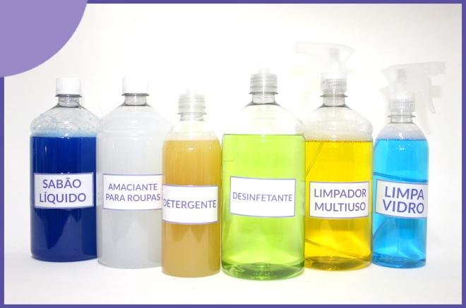 6 produtos de limpeza que você pode fazer em casa - Ilustração