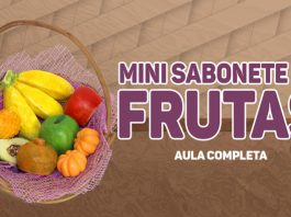 Mini sabonetes de frutas feitos artesanalmente - Destaque