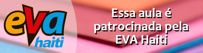 Porta-papel toalha em EVA no formato de vaquinha - Banner de patrocínio
