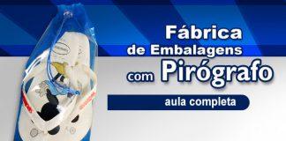 6 ideias de embalagens feitas com pirografia - Pirógrafo EM-7