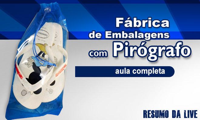 6 ideias de embalagens feitas com pirografia - Pirógrafo EM-7 - Destaque