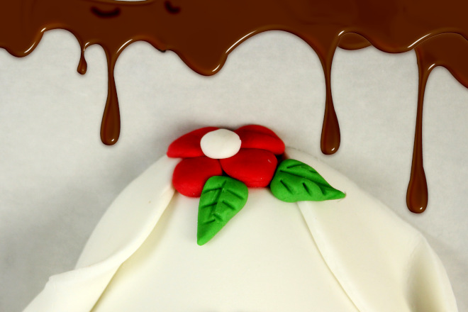 Ovo de páscoa decorado com pasta americana - Ilustração 2