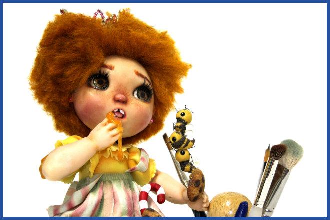 Rosto de biscuit: Modelagem para rostos de bebês e crianças - Ilustração 1